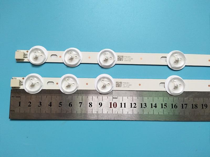 New 20set 40pcs 11LED 574mm LED backlight strip Replacement for VESTEL 32D1334DB VES315WNDL 01 VES315WNDS 2D