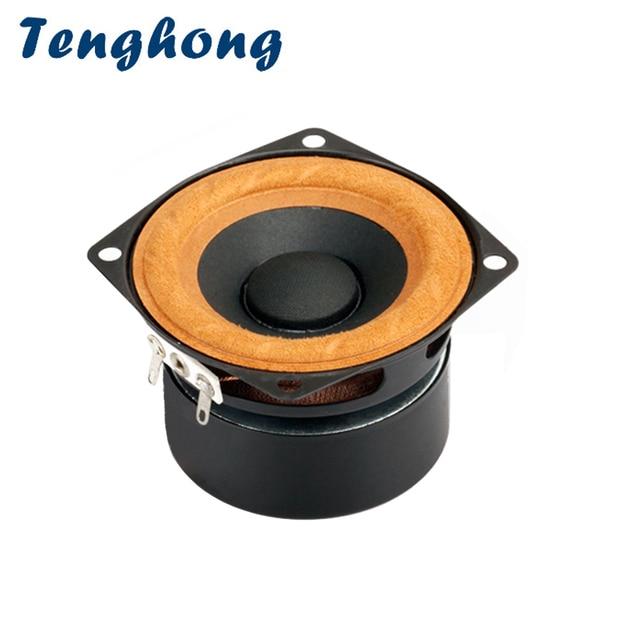 Tenghong 1 個 2.5 インチフルレンジスピーカー 4Ohm 8Ohm 15 ワットポータブル Bluetooth オーディオスピーカーユニットテレビコンピュータデスクトップスピーカー