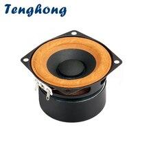 Tenghong 1 قطعة 2.5 بوصة كامل المدى مكبرات الصوت 4Ohm 8Ohm 15 واط المحمولة بلوتوث مكبر صوت وحدة التلفزيون الكمبيوتر سطح المكتب مكبر الصوت