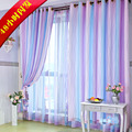 Modern brief rustic shade cloth curtain sheer tulle blinds,multicolor curtains for children bedroom,free shipping