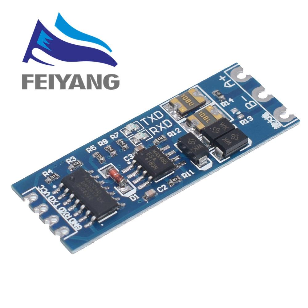 1 шт. TTL turn RS485 модуль 485 на Серийный уровень UART взаимное преобразование аппаратное автоматическое управление потоком