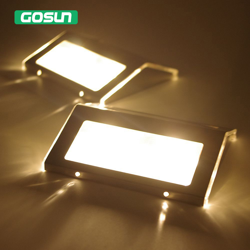 2pcs solar spot new luminaria solar energy luz garden - Luz led exterior ...