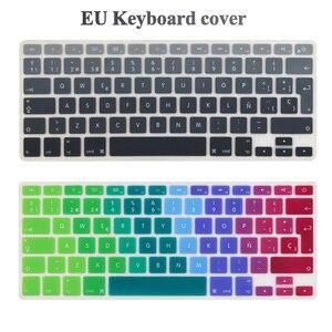 ES испанский евро чехол для клавиатуры Mid 2009-Mid 2015 MacBook Pro 13 15 дюймов Retina/CD ROM A1502 A1425 A1278 A1398 A1286