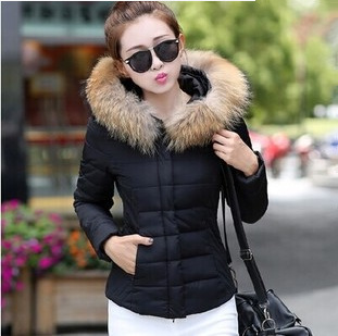 Thick Women cotton Coat with Hood Winter Hooded Down Jacket cold weather warm outwear coat fashion warm Overcoat For Women Coat fashionable thick hooded pleated down coat for women