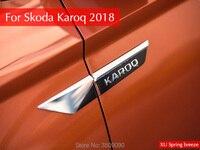 Car Original Side Wing Fender Door Emblem Badge Sticker Trim Car Styling 4Pcs Set For