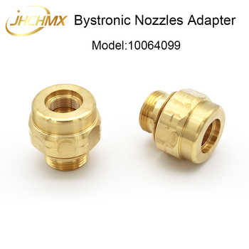 JHCHMX 10pcs/lot Imported Bystronic Nozzles Body 10064099 Nozzles Holder Copper Housing Machine Replacement Parts & accessories - DISCOUNT ITEM  10 OFF Tools