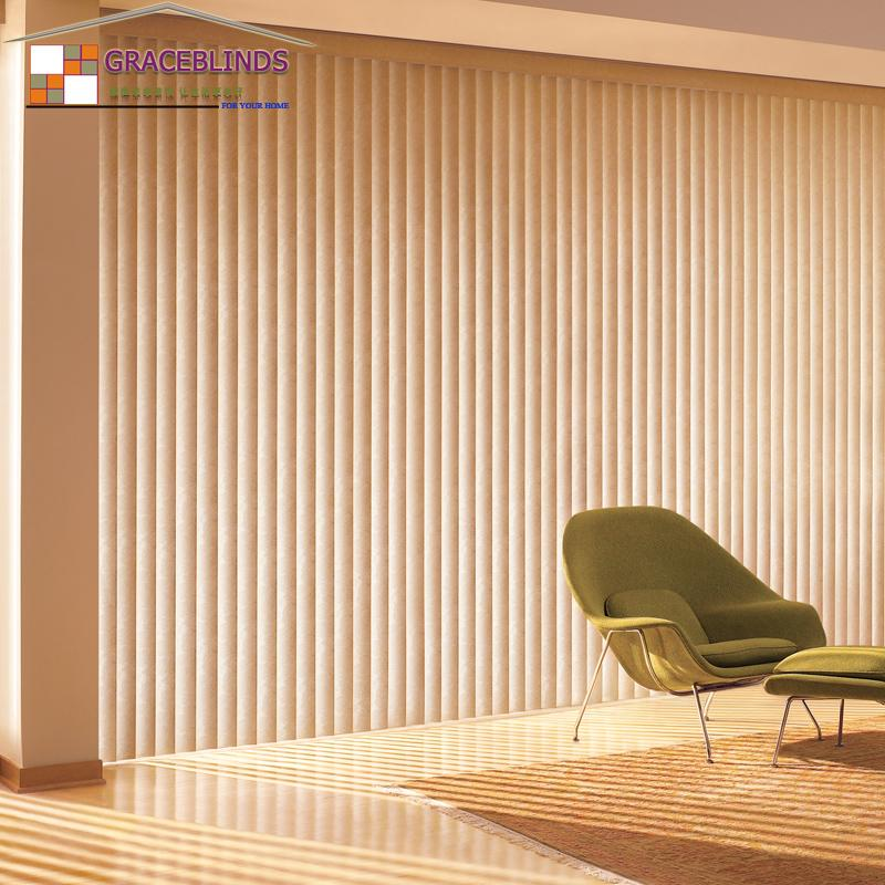 Vertical Curtain Processing Custom Solid Wood Venetian Blinds