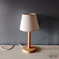 Loft Vintage Schreibtisch Lampe mit 2 Farben Traditionelle Amerikanische Landschaft Holz Edison Tisch Lampen Nordic Metall Tisch Leuchten-in Tischlampen aus Licht & Beleuchtung bei