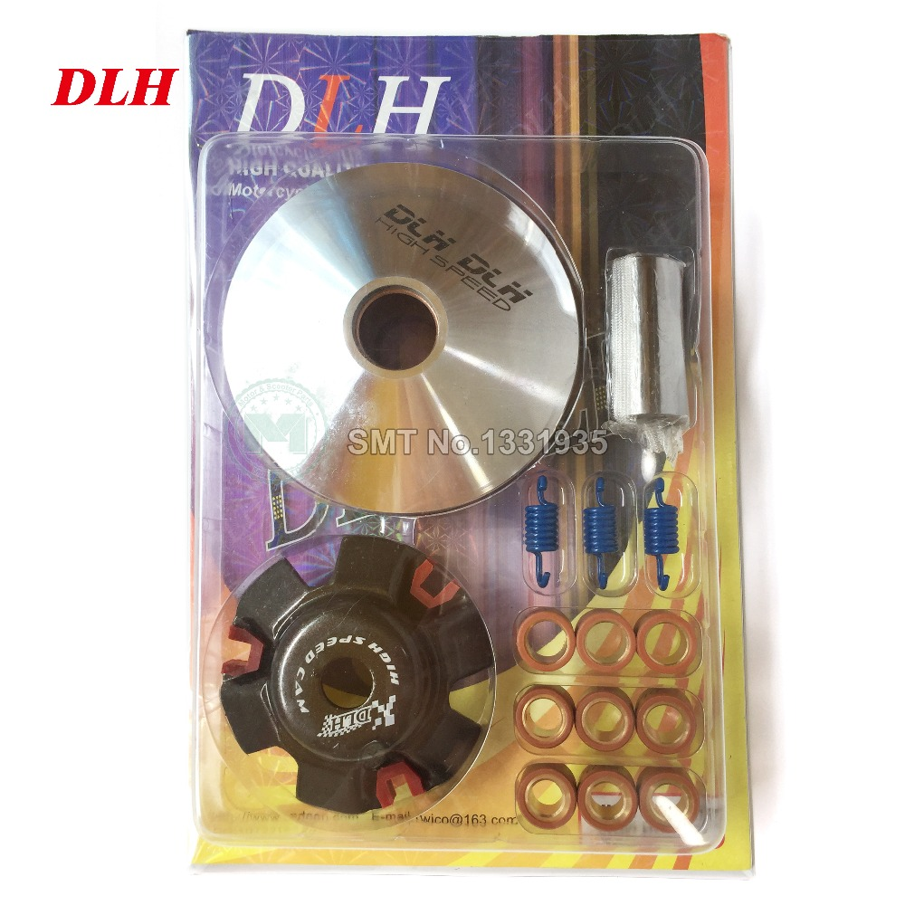 DLH Motorcycle Scooter Moped ATV CVT Variator Kit Front Clutch Drive Pulley For GY6 125 150cc 152QMI 157QMJ Agility 125