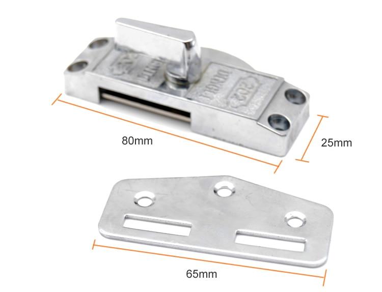 zinc alloy sliding door hook lock,For Bathroom kitchen sliding ...