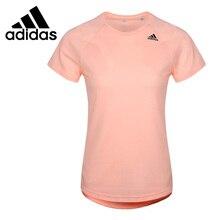 Новое поступление, Адидас, D2M, тройник, женские футболки, короткий рукав, спортивная одежда