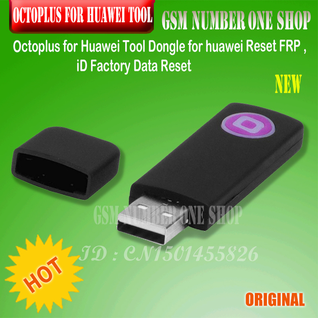 US $117 5 |2018 original new Octoplus Tool Dongle for huawei Reset FRP ,ID  Factory Data Reset-in Telecom Parts from Cellphones & Telecommunications on