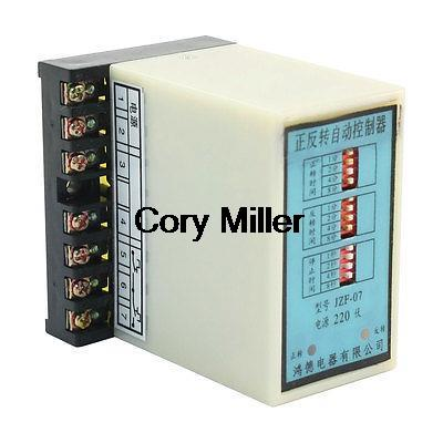 Time Adjustable For/Rev Stop Controller Relay For Washing Machine