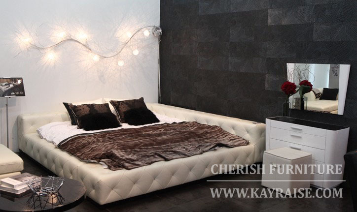 modern style king size queen size twin size bed frame kayraise in beds from furniture on aliexpresscom alibaba group - Modern King Size Bed Frame