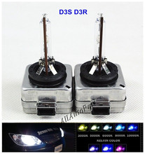 1 Pair HID D3S Headlamps Replacement HID d3s Xenon headlight Bulbs 12v 35w lamps hid 4300K