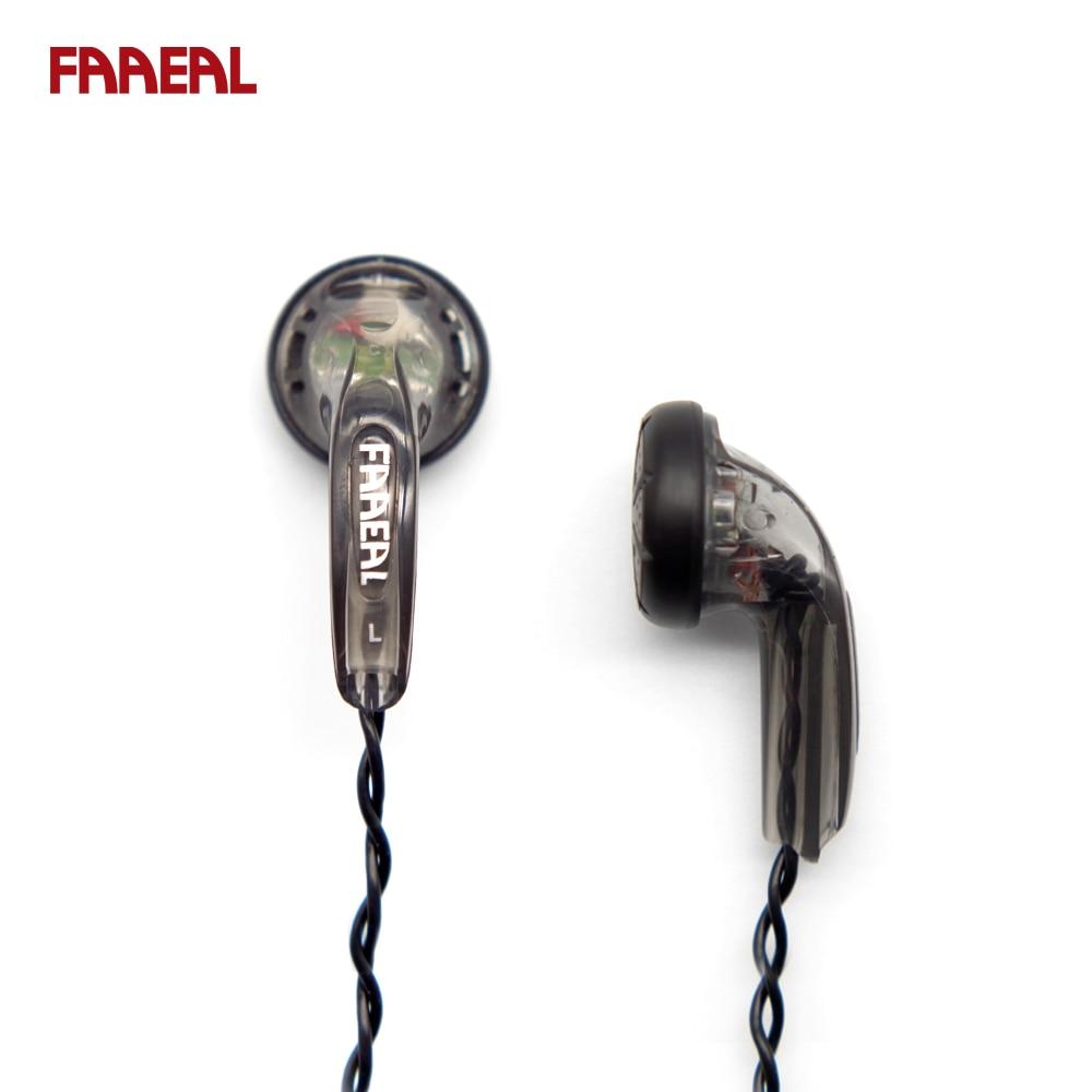 HIFI In-ear Earphone 64 Ohm DIY Heavy Bass Sound Quality Music Earphones HIFI Earbuds DJ Earphones Universal 3.5MM Auriculares