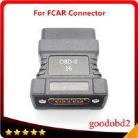 For FCAR OBD-II 16 Pin Connector for F3-A F3-W F3-D F3-G F3S-W F6-D OBD-II Adapter Car Scanner OBD 2 Connecter OBD2 Adaptor