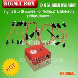 Image 2 - Оригинальный Sigma Box Sigmabox gsmjustoncct, полный набор для разблокировки и вспышки, и ремонта для китайской фототехники, кабель Nokia + 9