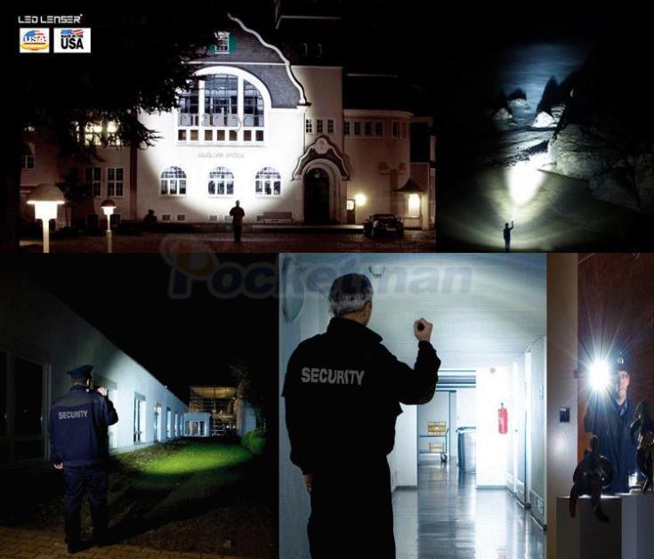 Lanternas e Lanternas lampe torche t6 xml 3800lm Distância de Iluminação : 500 Medidores