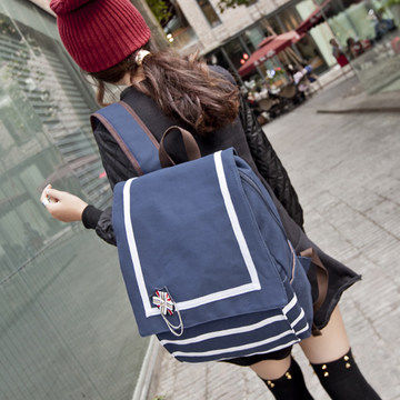 england middle school student school bag preppy style women backpack korean style japanese wind traveling bag