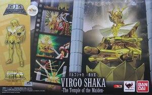 """Image 2 - """"Aziz Seiya"""" orijinal BANDAI Tamashii milletler D.D.PANORAMATION / DDP aksiyon figürü başak SHAKA tapınağı kızlık"""