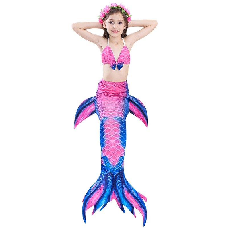girls mermaid tail swimwear 4