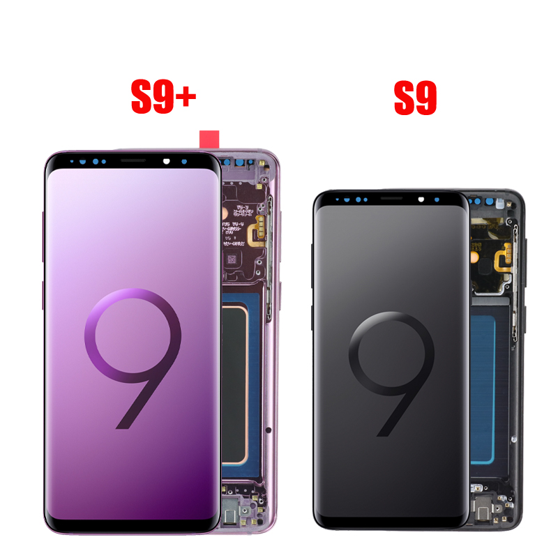 Original LCD For Samsung Galaxy S9 S9 Plus G965 G960 Burn in Shadow Lcd Display With Original LCD For Samsung Galaxy S9 S9+ Plus G965 G960 Burn-in Shadow Lcd Display With Touch Screen Digitize