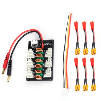 1-3 S XT30 Plug li-po batterie carte de charge parallèle 6 pcs XT30 mâle à JST câbles femelles pour IMAX B6 chargeur RC pièces de batterie