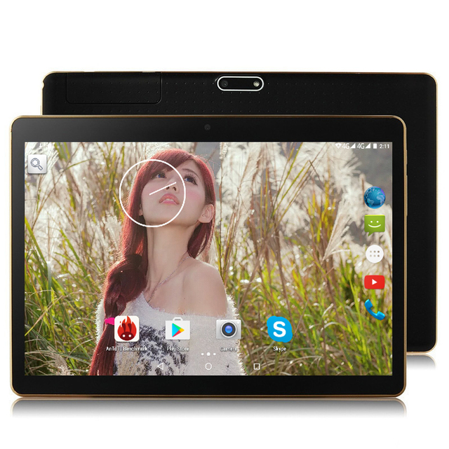 Free shipping Newest 9.6 6000Mah battery 4G Lte Tablet PC Ocat Core 4GB/32GB Dual SIM Card Android 5.1 IPS tablet PC 10 10.1»