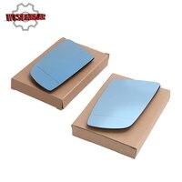 Left Right Car Heated Exterior Side Door Mirror Glass For BMW E60 E61 525i 528i 530i