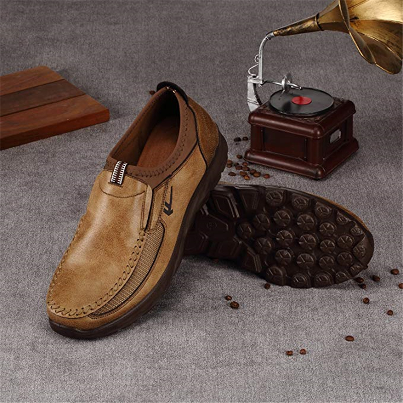 Mens Casual Flat Loafers Shoes,Fashion Slip on Shoes Men Hand Stitching Non-Slip Fitting Casual Shoes Sneaker Walking Boat ShoeMens Casual Flat Loafers Shoes,Fashion Slip on Shoes Men Hand Stitching Non-Slip Fitting Casual Shoes Sneaker Walking Boat Shoe