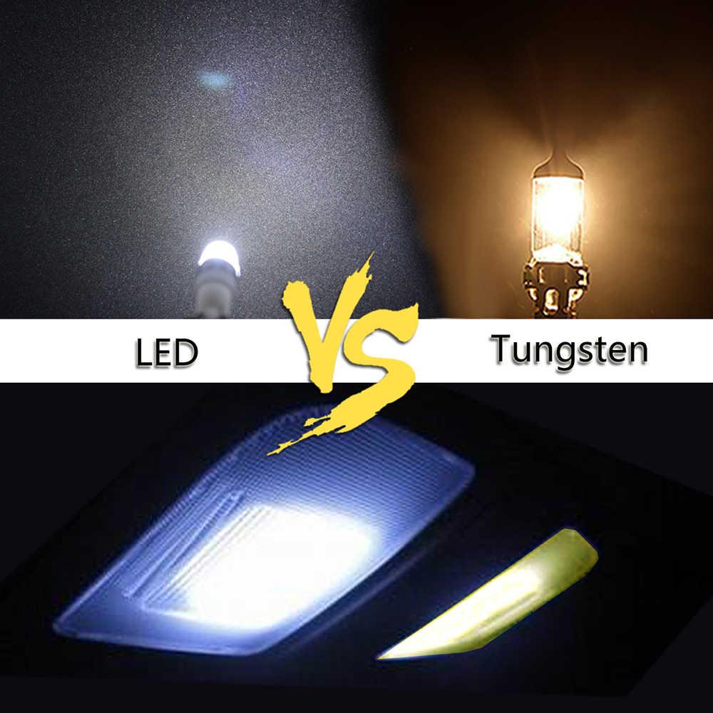 Drop Shipping T10 5730 LED lampa szerokokątna na prawo jazdy płyta/czytanie/bagażnik/lampa panelowa DRL car styling