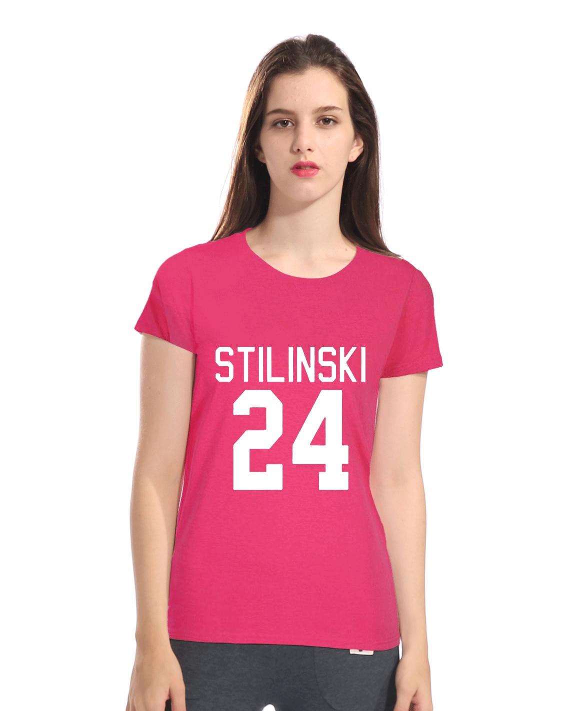 2019 summer women's T-shirts printed STILINSKI 24 fashion hip hop streetwear female T-shirt top lady tee shirt femme harajuku