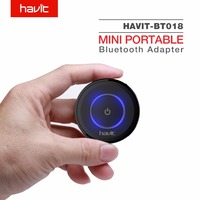 HAVIT 2 In 1 Bluetooth 4 1 Transmitter Receiver AptX Mini Wireless Portable Bluetooth Adapter To