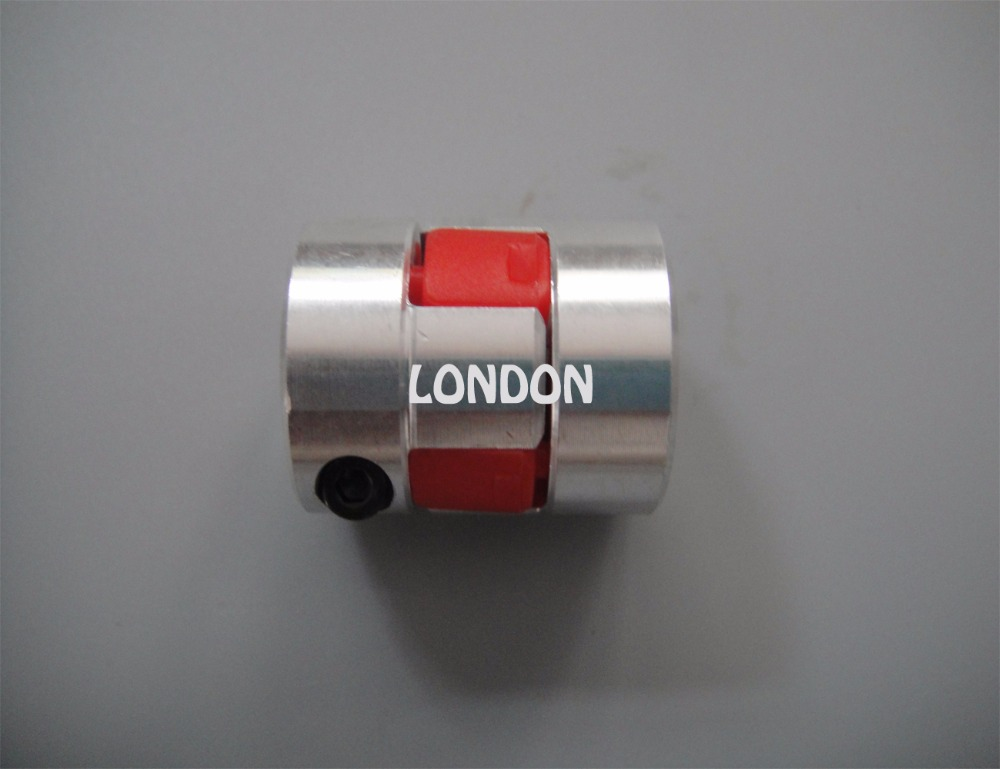 Accoppiatore D25L30 per albero di accoppiamento prugna a mascella flessibile CNC 3x 8x10mm