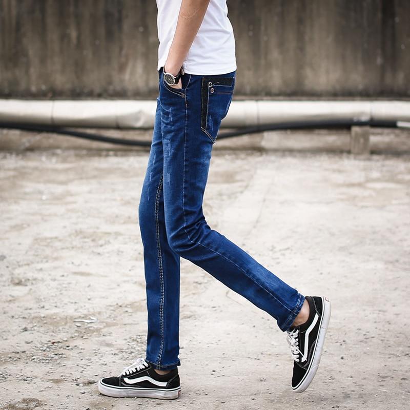2016 Korean Men's Pants Men's Jeans Slim
