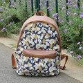 Newest Design Waterproof Causal Backpack Printing Flowers School Travel Bags For Teenager Preppy Style Girls Shoulder Book Bag