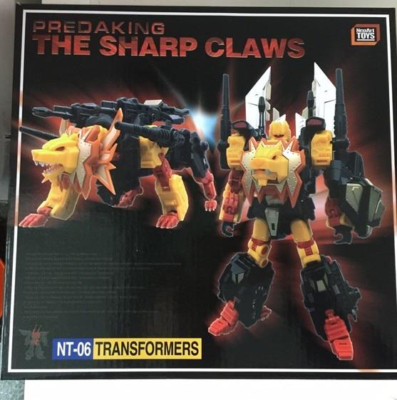 ФОТО TF NeroArt Toys NT-06 Predaking The Sharp Claw,In stock!