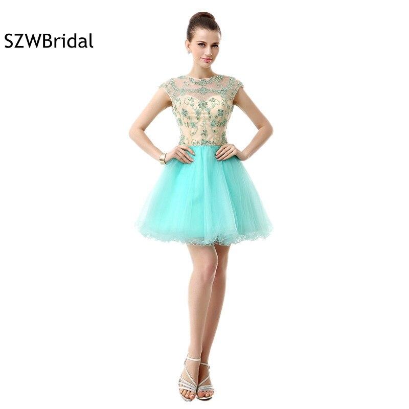 New Arrival Sexy Backless Cocktail dresses Vestidos de coctel Mini Cocktail dress 2019 ever pretty Jurken Party dresses