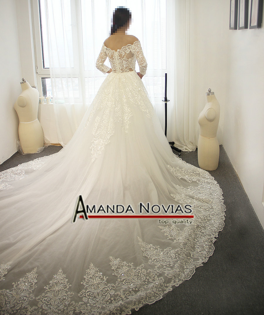 2016 new arrival wedding dress two in one wedding dress-in Wedding ...