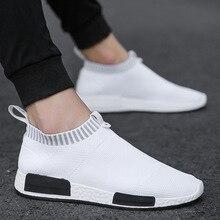 Мужские кроссовки из пробкового материала, дышащие кроссовки из дышащего сетчатого материала, без шнуровки, летние, не кожаные, повседневные, легкие носки, мужские кроссовки