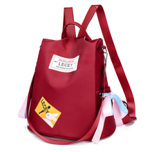 Fashion Backpack Women Preppy School Bags For Teenagers Female Oxford Travel Girls Anti-theft Mochilas