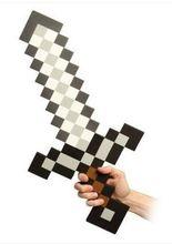 combo Optional collocation 2014 Newest Design Game Toy Diamond Sword Minecraft Foam Mosaic Sword Pickaxe Hamaxe