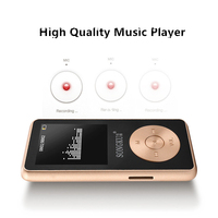 2017 New All Metal Songku HIFI MP3 Music Player Built In Speaker 8GB 16GB High Quality
