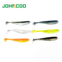 Fishing Lure 72pcs 7cm 1.85g Pesca Fishing Soft Lure Artificial Lure For Wobblers Silicon Lure and Swimming Bait Double Colors