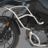 Motorcycle Black Front Upper Crash Bars Side Mount Engine Guard Frame Protection FOR BMW F750GS 2018