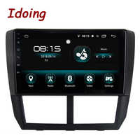 """Idoing 1Din 9 """"Auto Radio GPS Multimedia Player Android8.0/7.1For Subaru Forester 2008-2012 4G + 64G Octa Core Navigation Schnelle Boot"""