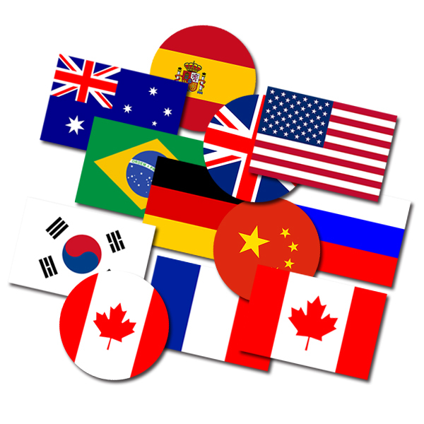SetA Small Size Country Flag Hellaflush Car Styling - Vinyl stickers for motorcyclesaliexpresscombuy hellaflush car stickers vinyl waterproof