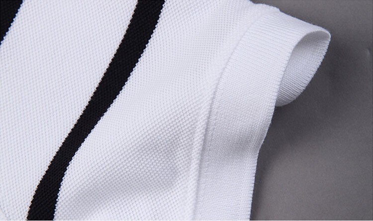 Polo Men Fashion Casual Classic Striped Golf Polo Shirt Slim Fit Summer Cotton Short Sleeve Tee Camisa Polos Homme Plus Size 3XL (6)