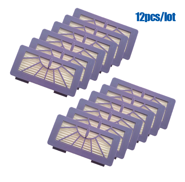 12 pcs/lot Replacement Neato Filter for XV-21 XV Signature XV Signature Pro XV-11 XV-12 945-0048 XV-15 Pet Allergy Cleaner Parts 1 piece brand new neato filter replacement pack for xv 11 xv 12 xv 14 xv 15 xv 21 for allergy automatic vacuum cleaner xv series